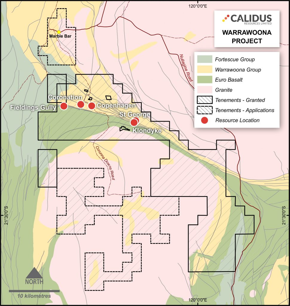 Warrawoona Gold Project • Calidus Resources Limited